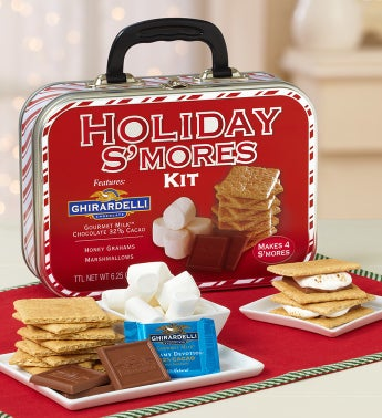 Ghirardelli® Holiday S'mores Kit