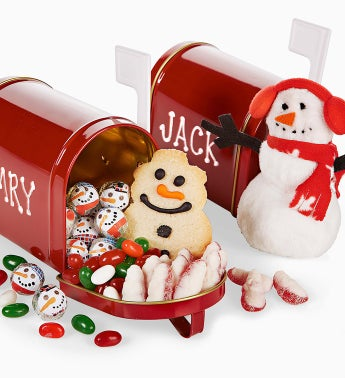 The Popcorn Factory® Christmas Mailbox