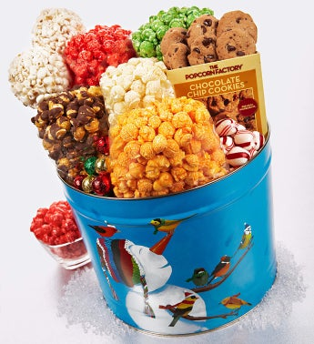 The Popcorn Factory® Frosty Friends Too Snack Tin