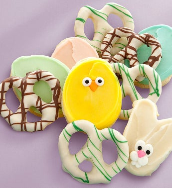 Cheryl's Easter Pretzels and Cookies 10pc