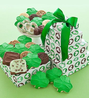 Cheryl's St Patricks Day Gift Tower
