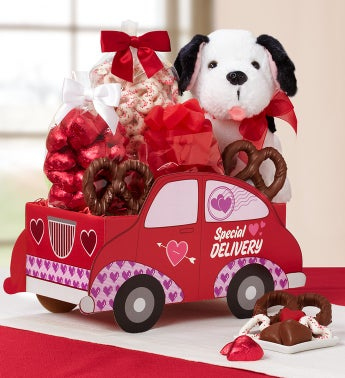 Special Delivery Valentine Sweets Sedan