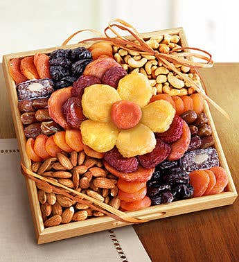 Flower in Bloom Gourmet Fruit & Nuts