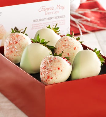 Fannie May® Holiday Mint Chocolate Strawberries