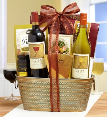 Chilean Wine Cellars Gift Basket
