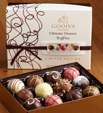 Godiva® Ultimate Dessert Truffles Box