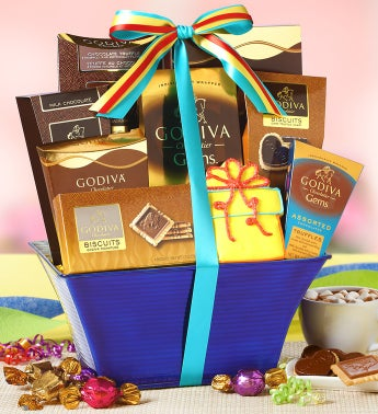 Godiva® Birthday Celebration Gift Basket