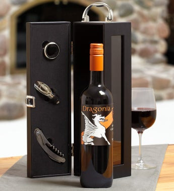 Dragonia® Garnacha Wine Gift Box with Accessories