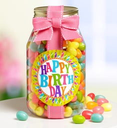 Light the Candles! Happy Birthday Sweets Jar