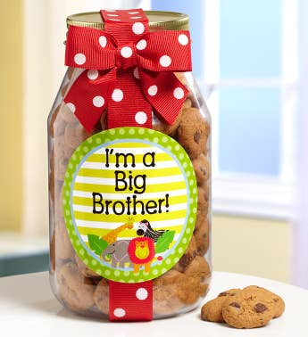 Im a Big Brother Chocolate Chip Cookie Jar