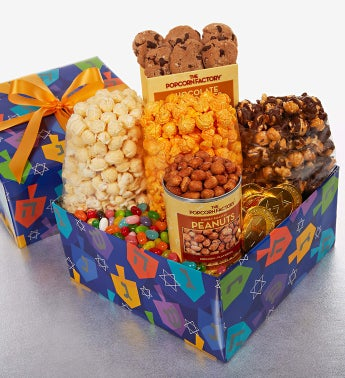 The Popcorn Factory® Spin the Dreidel Sampler Box