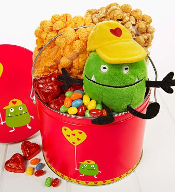 The Popcorn Factory® Valentine Monster Fun Pail