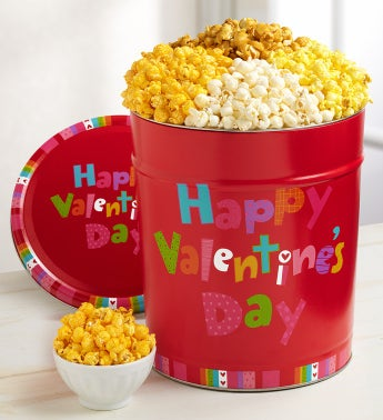 The Popcorn Factory® Happy Valentine's Day Tin