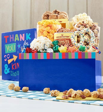 The Popcorn Factory® Thank You So Much Sampler