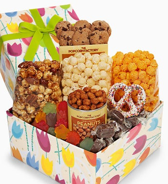 The Popcorn Factory® Tulips Sampler