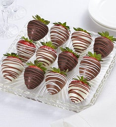 Fannie May Decadent Chocolate Covered Strawberries