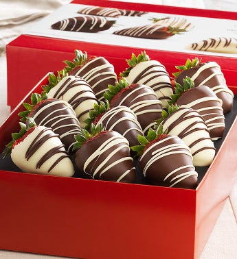Fannie May Chocolate Strawberries 12 ct