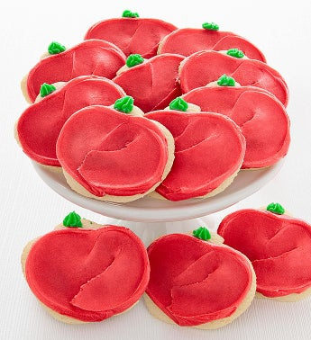 Cheryl's Apple Cut-Out Cookies