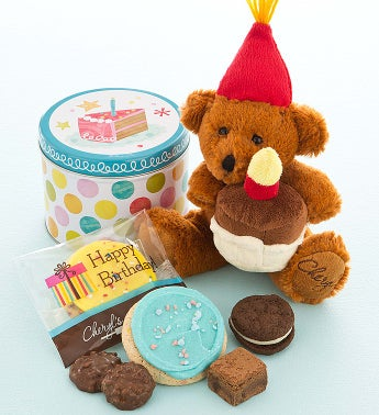 Cheryl's Birthday Bear with Treats