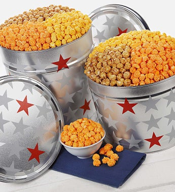 The Popcorn Factory ® All-Star 3 Flavor Popcorn