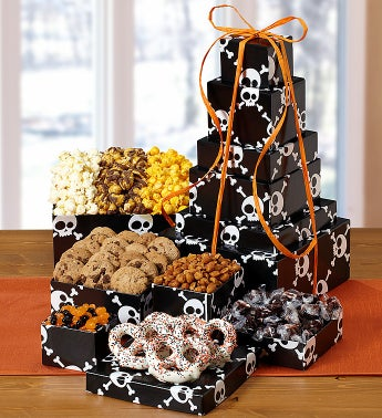 Popcorn Factory®Skulls 6 Tier Tower