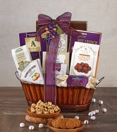 Splendid Sweets & Savories Gift Basket