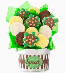 Cheryl's Speedy Recovery Cookie Flower Pot