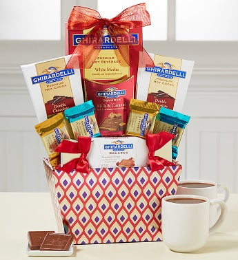 Lovin' Ghirardelli Chocolate Basket