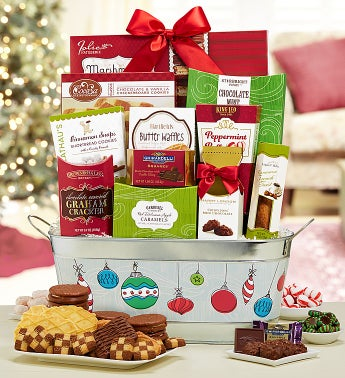 Holiday Celebration Gift Basket