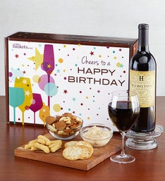 Red Wine Birthday Box