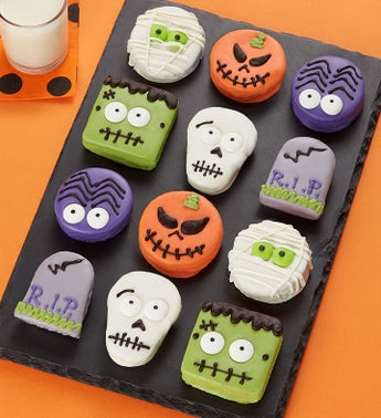 Spooky n Scary Mini Brownie Cakes