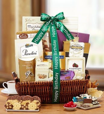 Tasteful Expressions Birthday Gift Basket