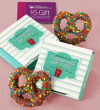 Thinking of You Pretzel Card