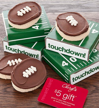 Cheryl's Football Cookie Card