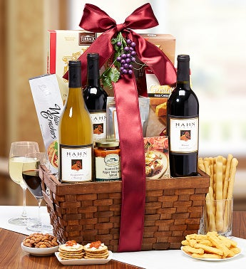 Vineyards of Hahn Estates® Wine Gift Basket