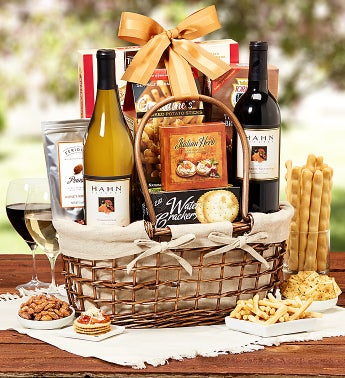 Hahn Estates® Wine Pairing Gift Basket
