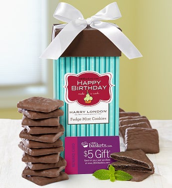 Harry London Happy Birthday Fudge Mint Cookies