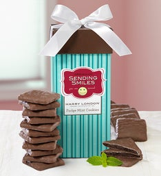Harry London Sending Smiles Fudge Mint Cookies