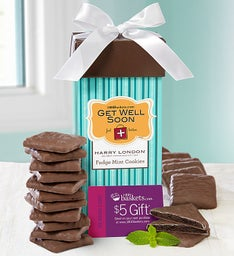 Harry London® Get Well Fudge Mint Cookies
