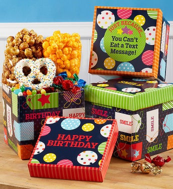 Popcorn Factory Thinking of You Cube