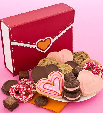 Cheryl's Layered Hearts Novelty - Treats