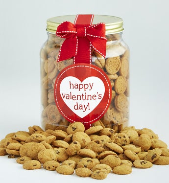 Happy Valentines Day! Chocolate Chip Cookie Jar
