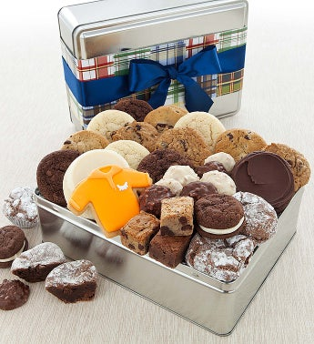 Cheryl's Fathers Day Gift Tin with Treats