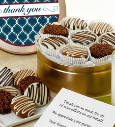 Thank You! Belgian Chocolate Covered OREO® Tin
