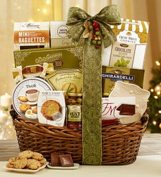 Home for the Holidays Gourmet Gift Basket