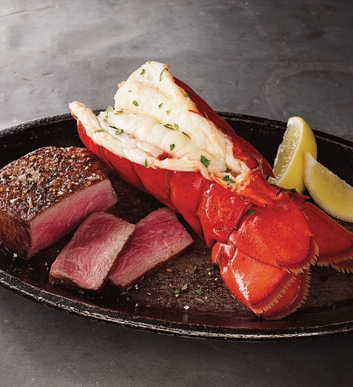Surf & Turf, Filet & Lobster Tail - Stock Yards®