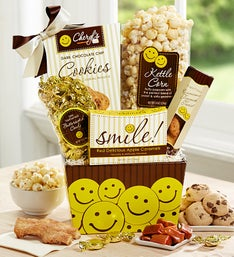 All Smiles Sweets & Treats Gift Basket