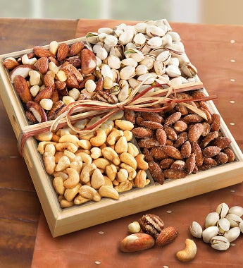 Woodlands Premium Nut Sampler - gluten free