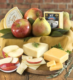 Fresh Fruit & Cheese Gourmet Box - gluten free