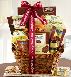 Congratulations on Your Success! Gift Basket